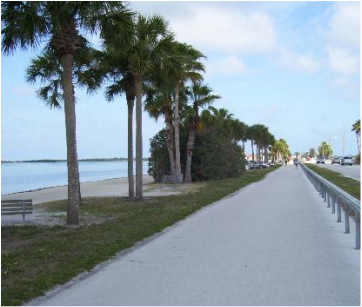 Dunedin Causeway trail was part of the Honeymoon Island Half Marathon course.