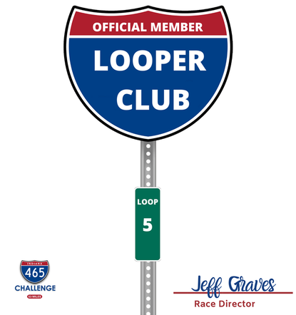 Logo for the 465 Challenge Looper Club.