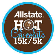 Allstate Hot Chocolate 15K 5K logo