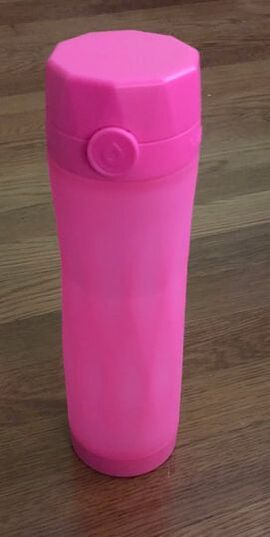 Hot Pink Hidrate Spark 3 water bottle.