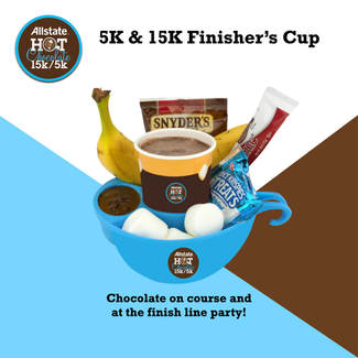 2018 Hot Chocolate 15K 5K Finisher Cup