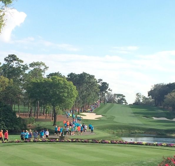 2017 Par4Miler was held on the Copperhead Course at Innisbrook Golf Resort.
