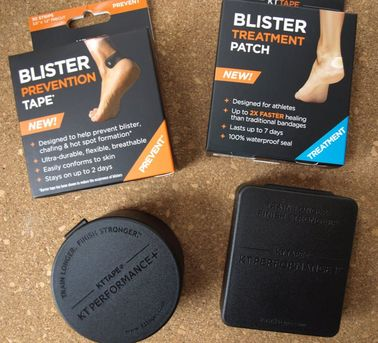 KT Tape Blister Prevention Tape and Patches