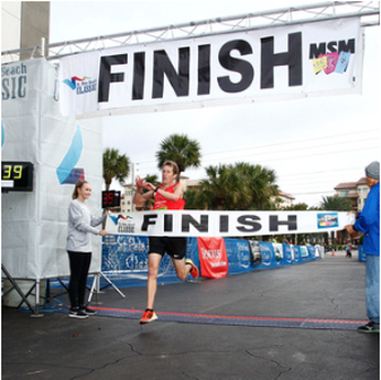 St Pete Beach Classic Finish Line