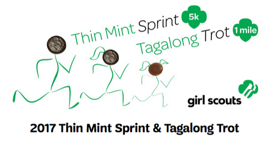 Logo for 2017 Thin Mint Sprint and Tagalong Trot in Safety Harbor, FL