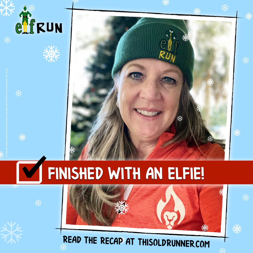 Bib Rave Pro wearing ELF Virtual Run green beanie.