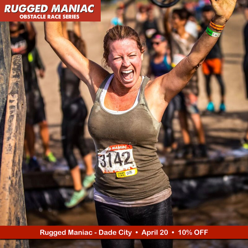 Rugged Maniac obstacle course race in Dade City Florida