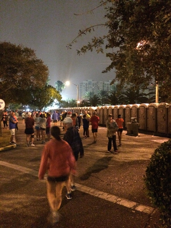 Port-o-lets for the 2017 Sarasota Music Half Marathon