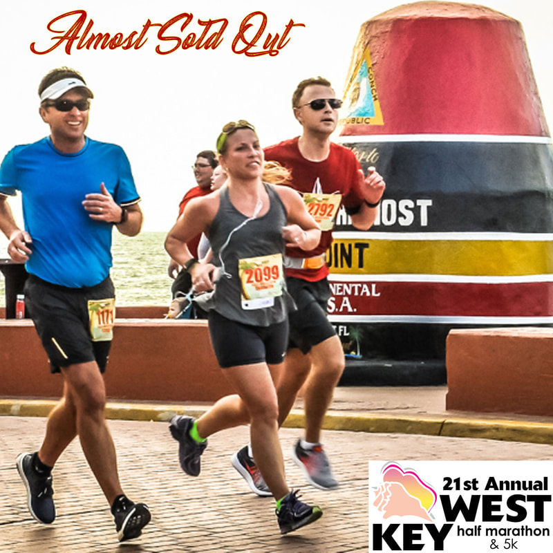 Photo of runners at the Key West Half Marathon in January.