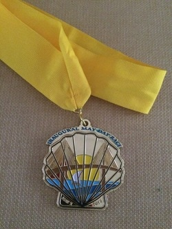 2015 May Day Finisher Medal.