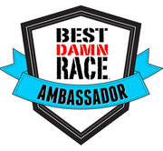 Best Damn Race Ambassador logo and discount code