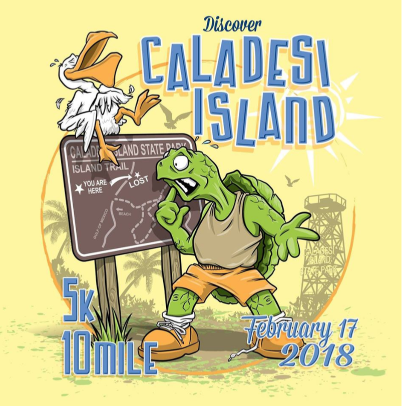 2017-2018 Florida Road Races Triple Crown 5K Series at Fort DeSoto Park.