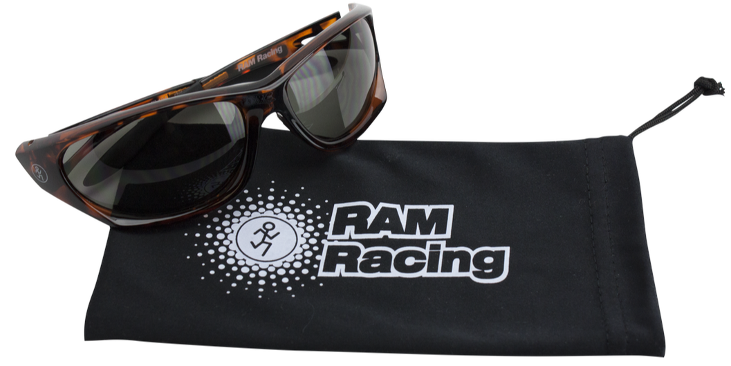 Bonus Ram Racing sunglasses.