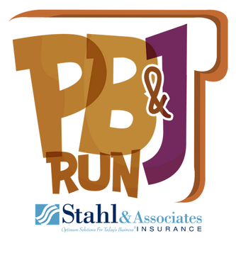 Logo for the 2017 Inaugural PB&J races in Clearwater.