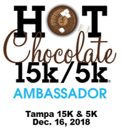 Hot Chocolate 15K 5K Tampa Ambassador
