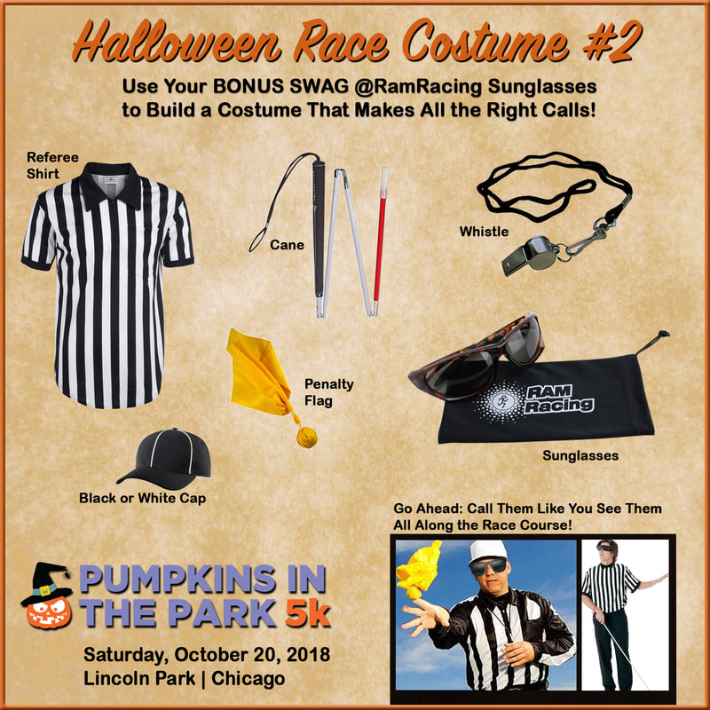 Blind Ref Costume Idea