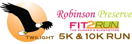 The Robinson Preserve 5K/10K Twilight Runs take place on March 31, 2017.