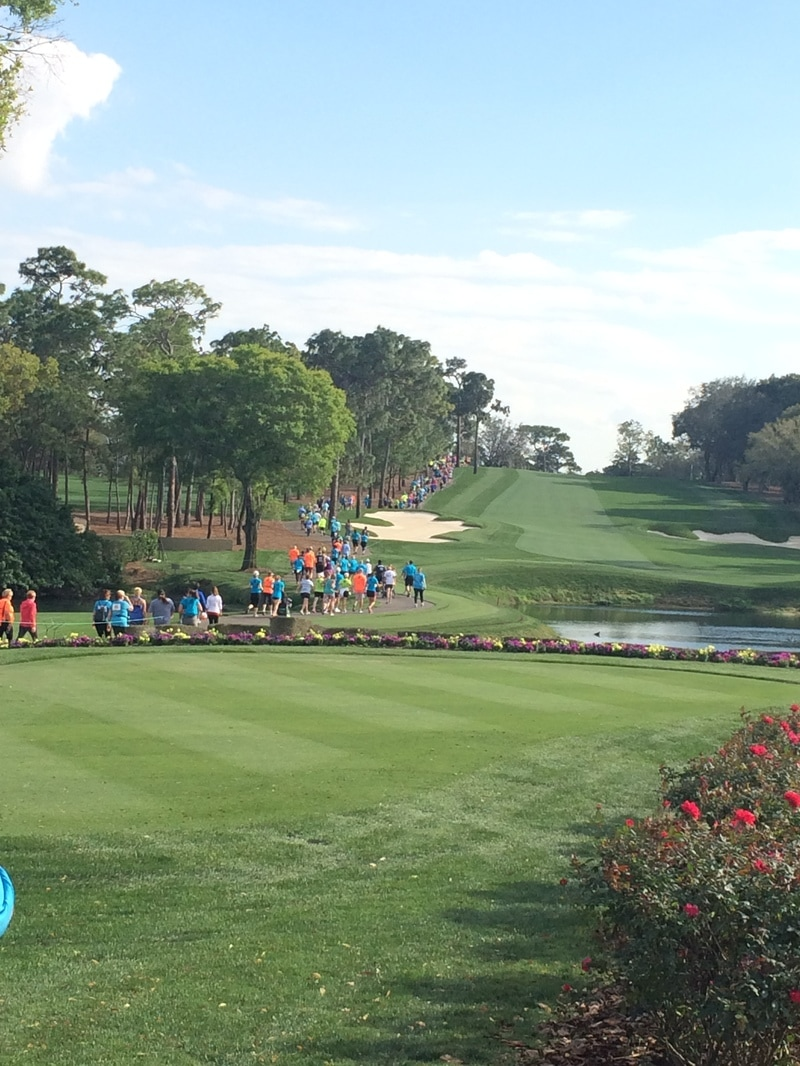 The Par 4 Miler race is on the Copperhead course at Innisbrook Golf Resort in Palm Harbor, FL