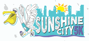 St Pete Run Fest Sunshine City 5K Logo.
