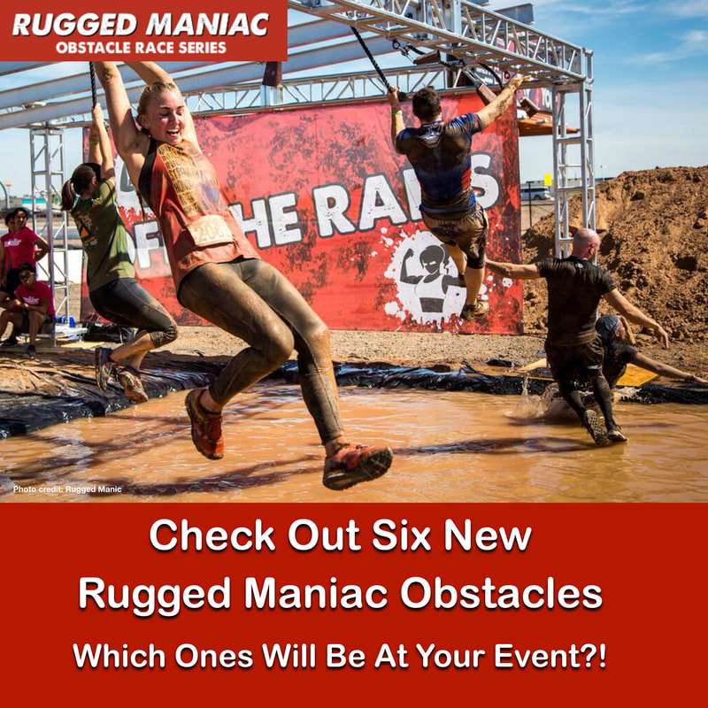 Rugged Maniac Obstacles For 2019