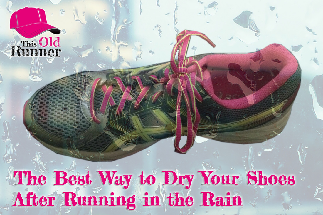 Learn the best way to dry your shoes after running in the rain.